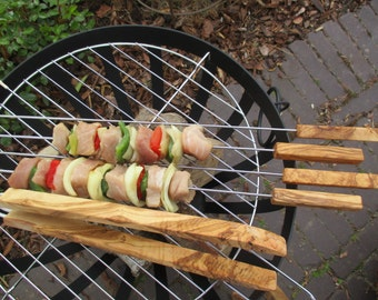 Barbecue Set (1x barbecue tongs, 4x spears)