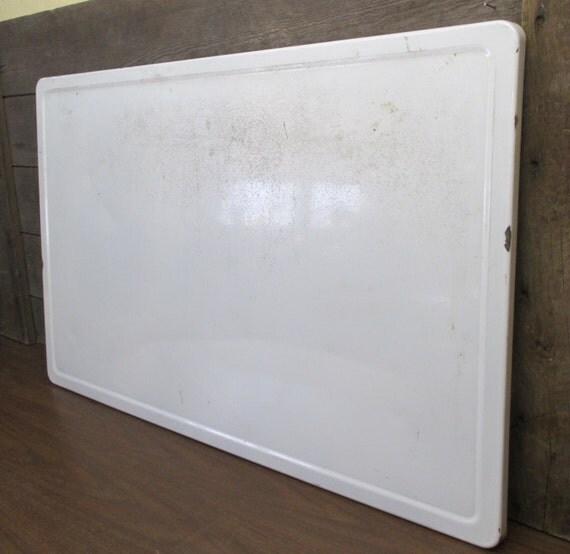 40 x 25 white porcelain table top kitchen cupboard hoosier for White enamel kitchen cabinets