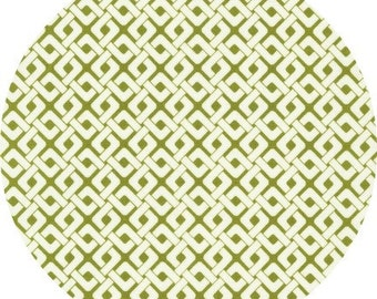 SALE Pick a Bunch, Nancy Mimms - Links in Olive - 1 yard