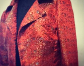 Jacket of silk natural
