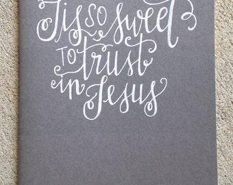 Tis So Sweet Hymn Journal