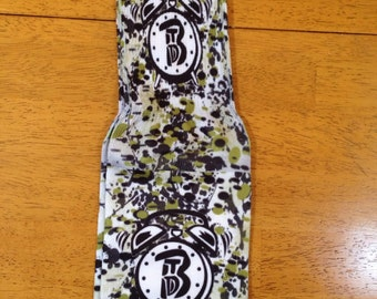 BTD splattered paint socks in olive