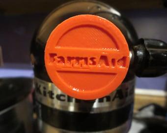 Personalized KitchenAid Mixer Attachment Cap - Simple