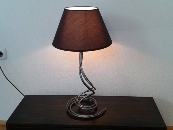 Bedroom Bedside Wrought Iron Desk Lamp Handmade Home Decor