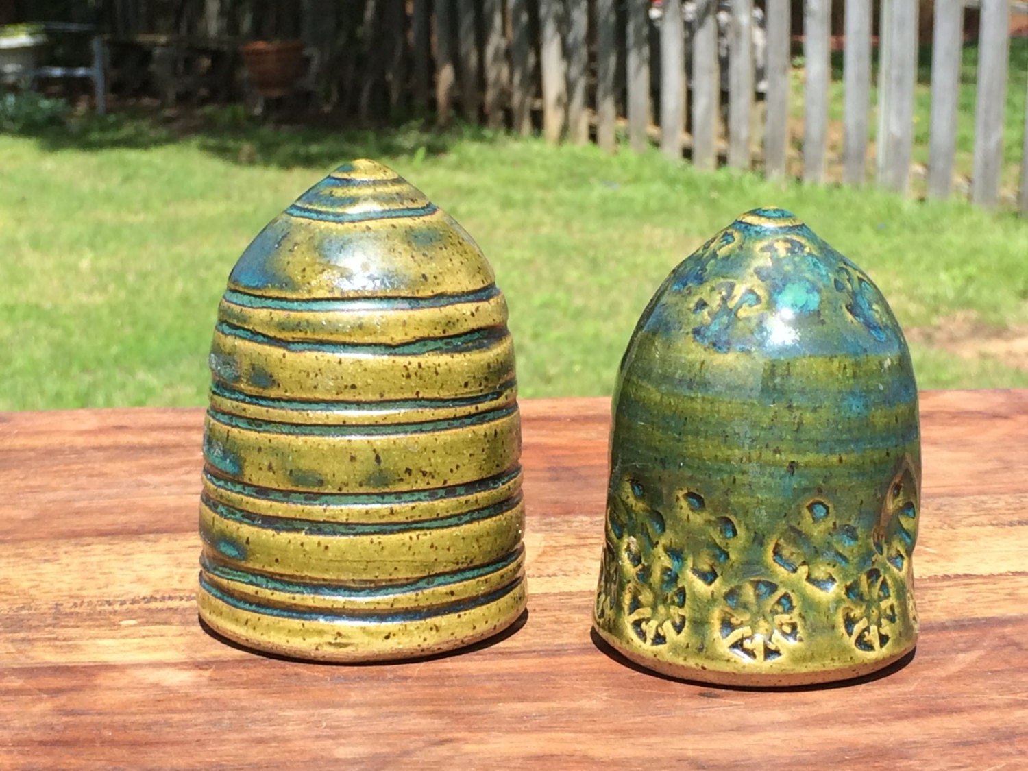 Vintage Ceramic Salt And Pepper Shakers Circa By
