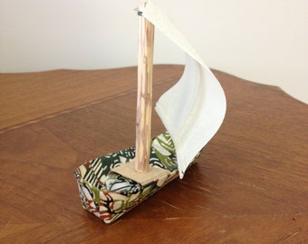 Handmade Paper Sail Boat