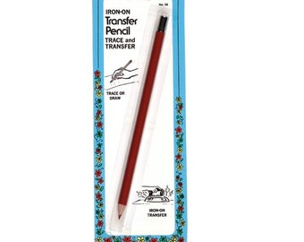 Heat Activated Iron-On Transfer Pencil by Collins W-58