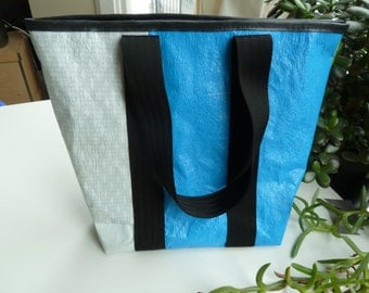 Walrus: MADE TO ORDER - Upcycled Plastic Tote Bag