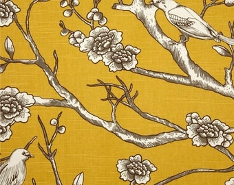 Upholstery Fabric, Drapery Fabric, Bird Fabric, Duvet Fabric, Slip Cover Fabric, Fabric By The Yard, Home Decor Fabric, ExclusiveFabric