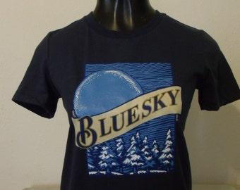 Ladies Allman Brothers Blue Sky/Blue Moon Beer shirt