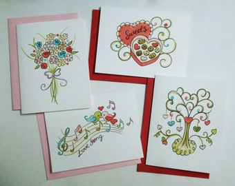 Decorative & Sweet Greetings For The Ones You Love