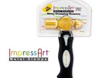 ImpressArt 8 oz. Metal Stamping Hammer