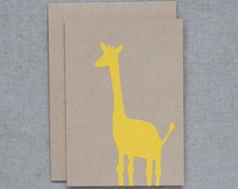 Giraffe (yellow)