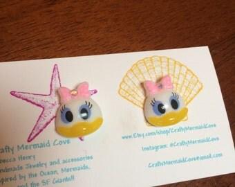 Daisy Duck Earrings