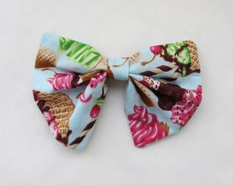 Ice Cream Treat Hair Accessories Girls Hair Clip Adult Hair Clip Hair Care Chignon Hair Bow Teens Hair Bows Adult Hair Bow Vintage Hair Bow