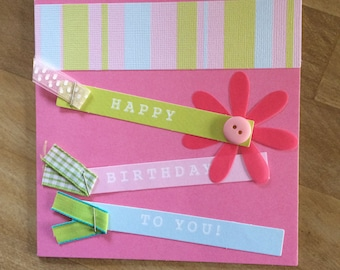Happy Birthday for her Card with Envelope