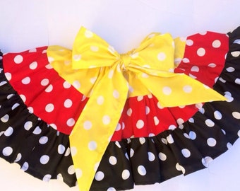 Minnie Mouse twirl skirt