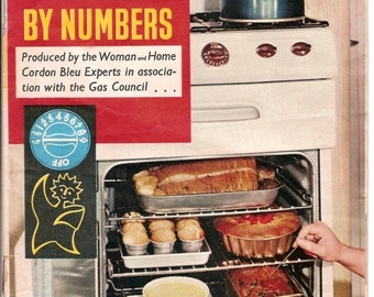 Cooking by numbers vintage booklet 1960's