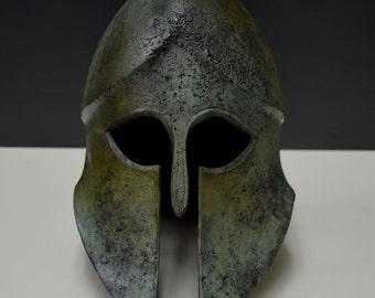 Helmet bronze aged Cornthian solid type