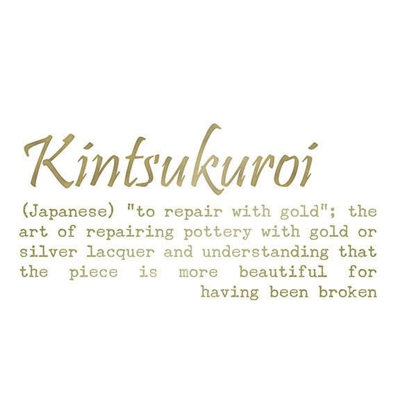 Image result for Kintsukuroi Symbol