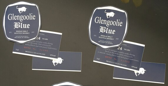 Glengoolie blue label