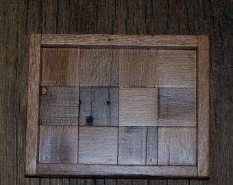 Reclaimd Wood Tray