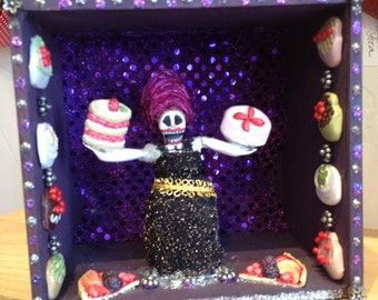 La Comelona Nicho Shrine - Day of the Dead