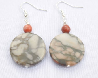 Handmade Marble Earrings. Chiltik Earrings