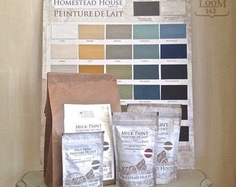 Homestead House Milk Paint - 30 Colours - 4 sizes - Made in Canada