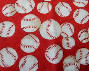 baseball bandana in small, medium, large, dog/pet, baseball bandana