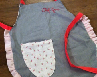 Young chef's little apron