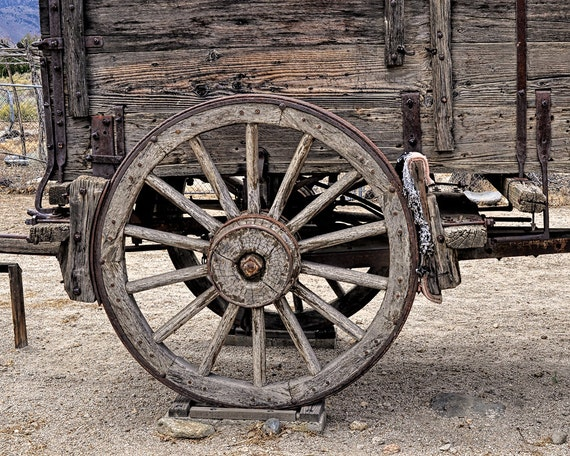 Items Similar To Rustic Decor Country Decor Old Wagon