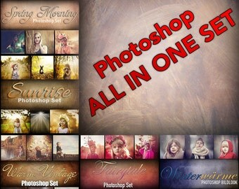 All-in-one - big Photoshop action set