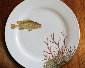 "fishy fish Dinner Plate - ""coraline"""