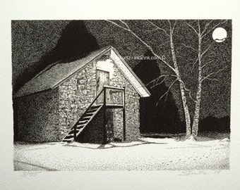 Winter Night - Limited Edition Print