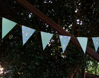 NIGHT OWL Paper Bunting - Nursery, Party, Baby Shower, Children's Room decoration