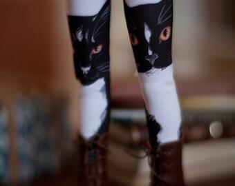 black cat bjd stockings  MSD / SD / Blythe / tiny