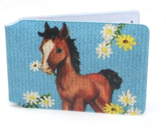"Travel Card Holder ""Horse"""