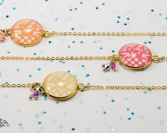 Collar neck Ras 'Mabzoju-Pop' for girls
