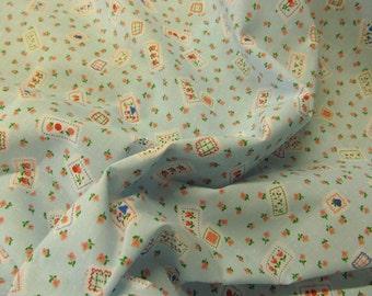 New Season Poly Cotton Sky Floral Polycotton Fabric Dress/Craft Fabric