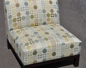 Crate & Barrel Upholstered Chair