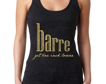 Barre Get One Inch Lower Racerback Tank Top