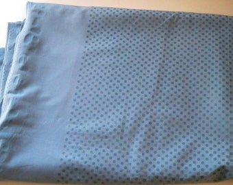 Blue Stretch, Synthetic Fabric, Glued On Dots,  Dance Fabric