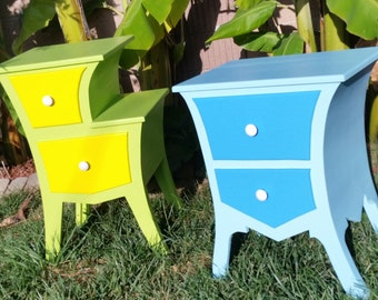 Dr. Seuss style nightstands - Custom Colors Available