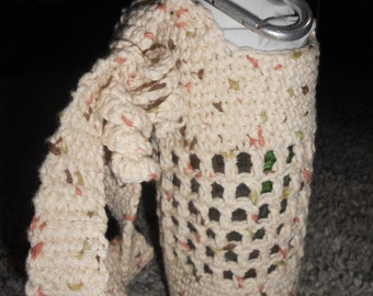 Home Made Crocheted Water Bottle Coozie/Covers
