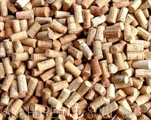 200 All Natural Recycled Wine Corks for Arts and Craft Projects - Variety of Different Wineries - NO SYNTHETIC