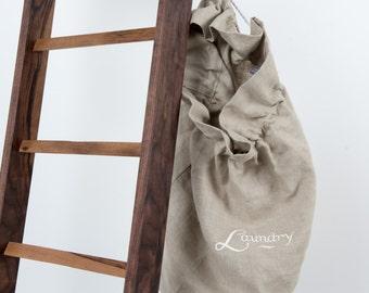 100% Scottish Linen Laundry Bag