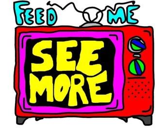 Feed me, See more [feed me Seymour] digital print