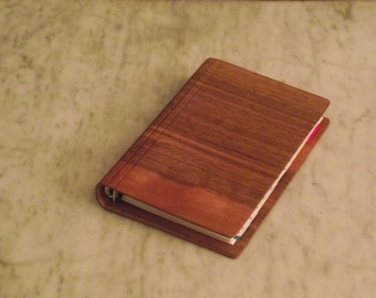 notebook organizer in Walnut