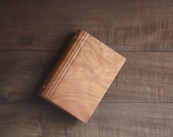 Briar Burl notebook mable